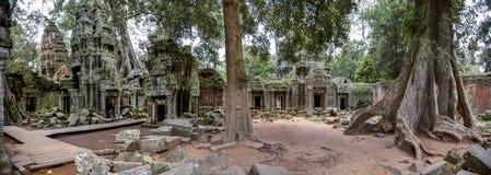 Панорамный висок Камбоджа Prohm животиков Стоковая Фотография