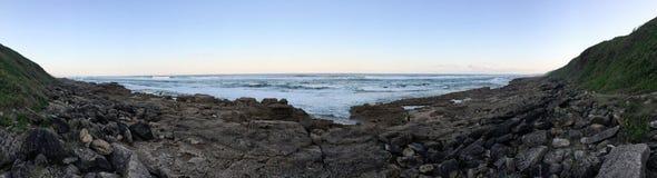 Панорамный вид на море Сент-Люсия Южная Африка Стоковое Фото