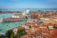 Панорамный вид с воздуха Венеции Стоковые Изображения