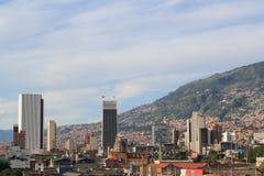 Панорамный востока города Medellin, Колумбия, Стоковое фото RF