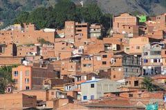 Панорамный востока города Medellin, Колумбия, Стоковое Фото