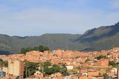 Панорамный востока города Medellin Колумбия, Стоковое фото RF