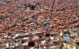 Панорамный Ла Paz Стоковые Изображения RF