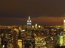 Панорамный Нью-Йорк Стоковая Фотография RF