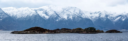 Панорамный остров Стоковые Изображения