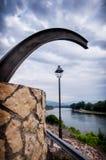 Панорамный реки, Испании стоковые изображения