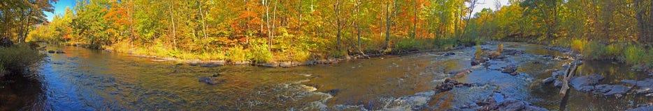 Панорамный Fall River Стоковая Фотография