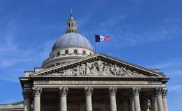 Пантеон в Париже, Франции стоковое изображение rf
