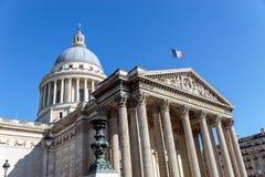 Пантеон в Париже стоковое изображение