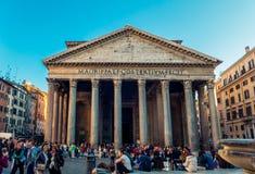 Пантеон в Риме Стоковая Фотография RF