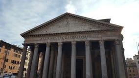 Пантеон на Риме стоковая фотография