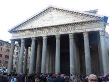 Пантеон Рима стоковые изображения