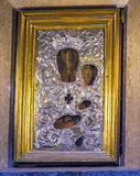 Пантеон Рим Италия алтара значка Иисуса девственницы Mary стоковая фотография