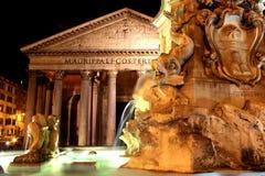 Пантеон - Рим, Италия Стоковое Фото