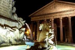 Пантеон - Рим, Италия Стоковые Фотографии RF