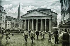 Пантеон Рим, Италия стоковое изображение