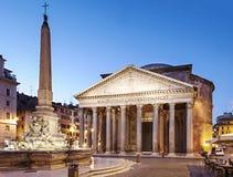 Пантеон, Рим стоковые фотографии rf