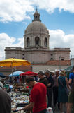 Пантеон соотечественника Лиссабона Стоковое Фото