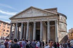 Пантеон - старый римский памятник стоковое фото