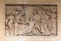 пантеон paris Франции Стоковые Фото