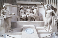 пантеон paris Франции Стоковое Изображение