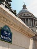 пантеон paris Стоковое Изображение