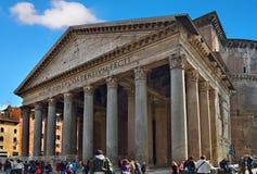 пантеон rome Италии Стоковые Фото