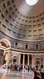 пантеон rome 17 2010 августовский нутряной Италия Стоковое Изображение