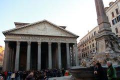 пантеон rome Стоковое фото RF