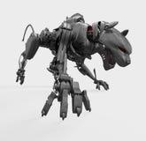 пантера металла cyber одичалая Стоковые Изображения RF