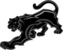 пантера талисмана тела графическая Стоковая Фотография RF