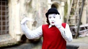 Пантомима в Париже видеоматериал