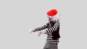 Пантомима DJ акции видеоматериалы