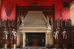 Панцырь в замке Эдинбурга Стоковое Изображение RF