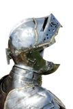 Панцырь средневекового рыцаря изолированного на белизне Стоковая Фотография RF