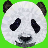 Панда намордника изображения вектора Стоковые Изображения