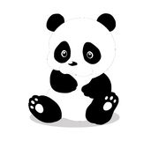 Панда настолько милая Стоковое Изображение