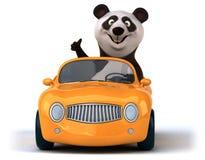 Панда потехи иллюстрация вектора