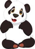 панда шаржа милая Стоковые Фото