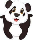 панда шаржа милая Стоковое Изображение RF