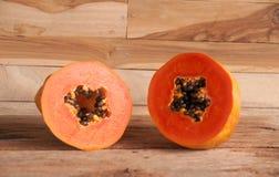 папапайя свежих фруктов Стоковое фото RF