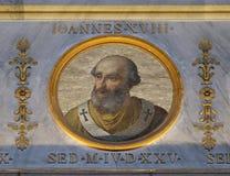 Папа Джон XVIII стоковое изображение rf