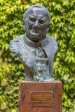 Папа Иоанн Павел II - скульптура стоковая фотография rf