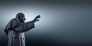 Папа Иоанн Павел II ('a WojtyÅ zef ³ Karol JÃ) Стоковое Фото