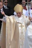 Папа Иосиф Венедикт XVI Стоковые Фотографии RF