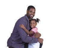 Папа и его дочь Стоковое Изображение