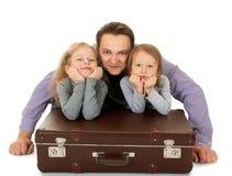 Папа и дочь Стоковая Фотография