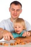 папа младенца стоковое изображение rf