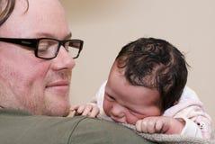папа младенца Стоковые Фото