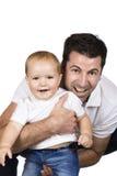 папа младенца стоковые изображения